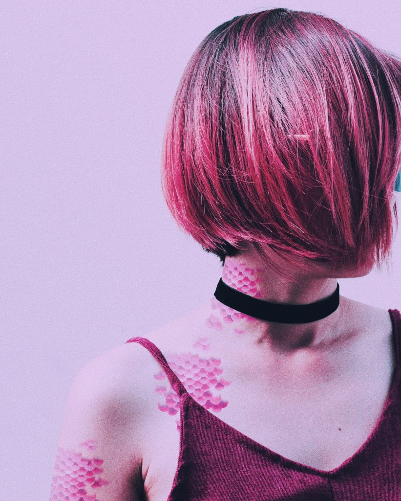Pink Mermaid Tattoos
