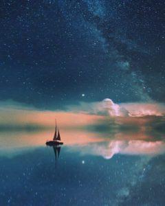 Sailing under the stars